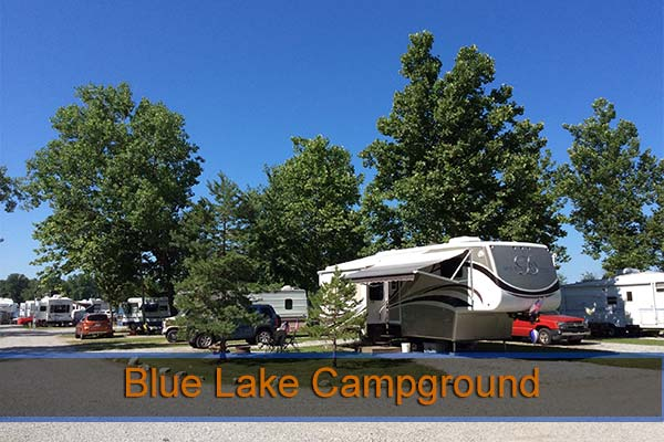 Blue Lake Campground Indiana