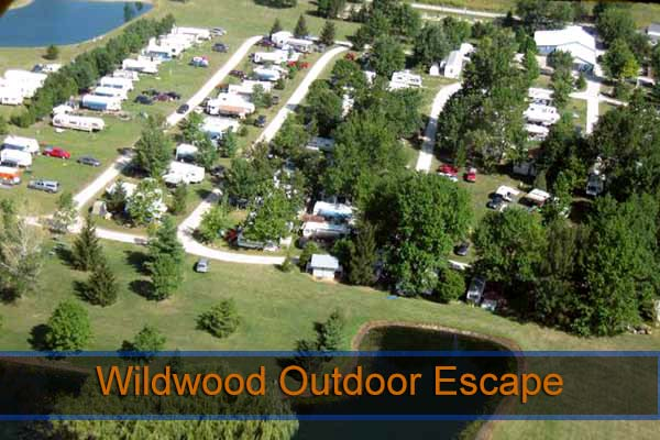 Wildwood Outdoor Escape RV Park Indiana