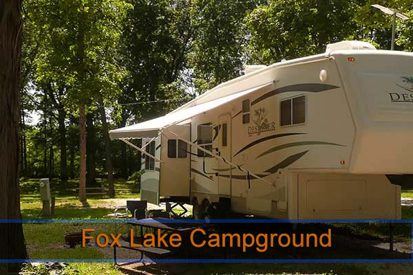 Fox Lake Campground Indiana